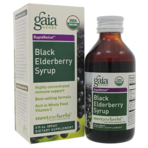 Black Elderberry Syrup